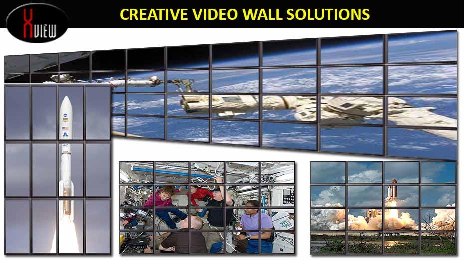 X-View Videowall 3x3