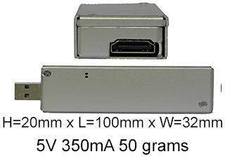 PZ-HDMI Compact Low Power USB capture