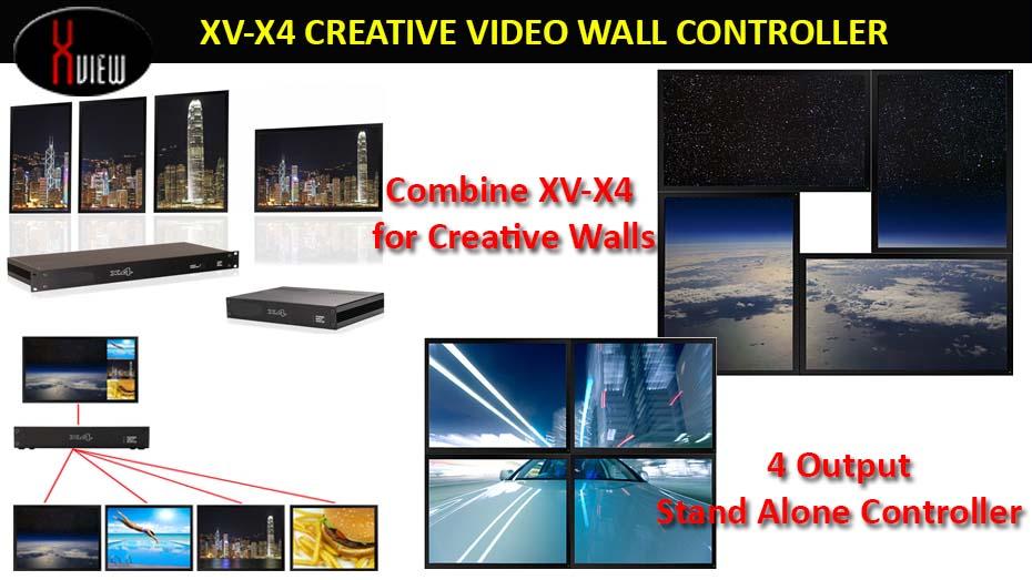 X-View Videowall 4