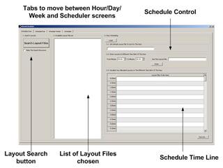 X-View Videowall Scheduler Per Hour
