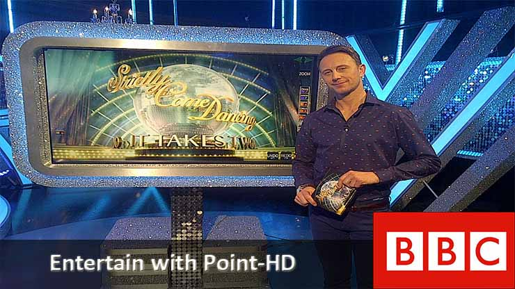 Point HD Broadcast Telestrator for Entertainment