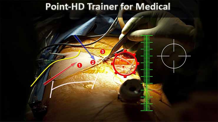 Point HD Trainer Telestrator for Medical