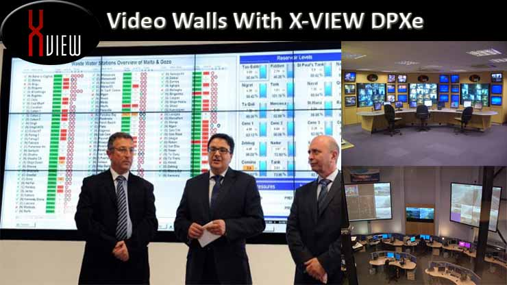 X-View Video walls Control Rooms