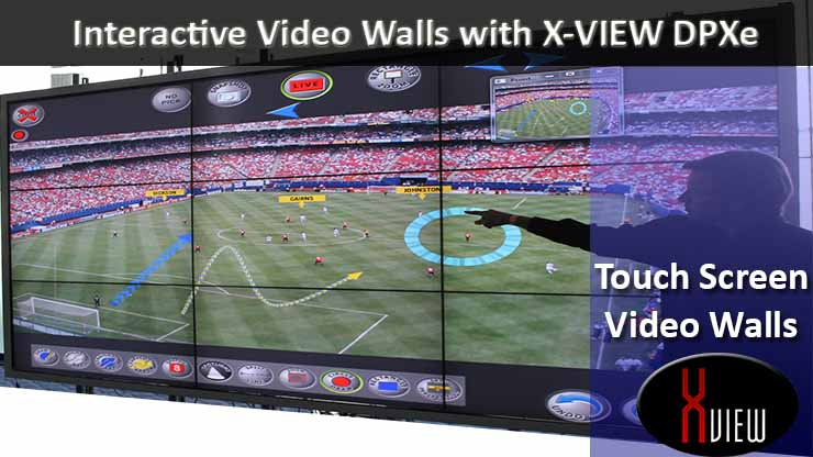 X-View Video wall Touch Screen